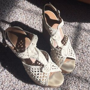 Shoes - crocheted wedges // 2 for $15